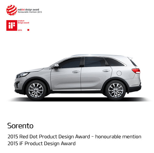 Sorento - 2015 Red Dot Product Design Award _ honourable mention 2015 iF Product Design Award