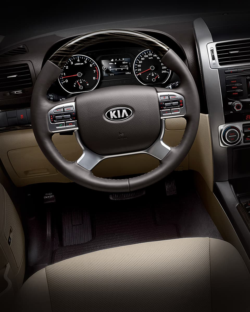 Kia Quoris 2019 >> Kia Mohave Borrego Gallery | 7 Seater MPV | Kia Motors Global
