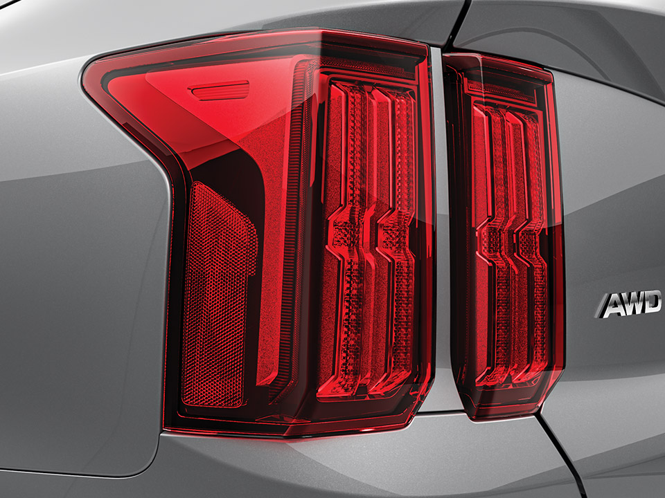 Rear combination lamps (LED type)