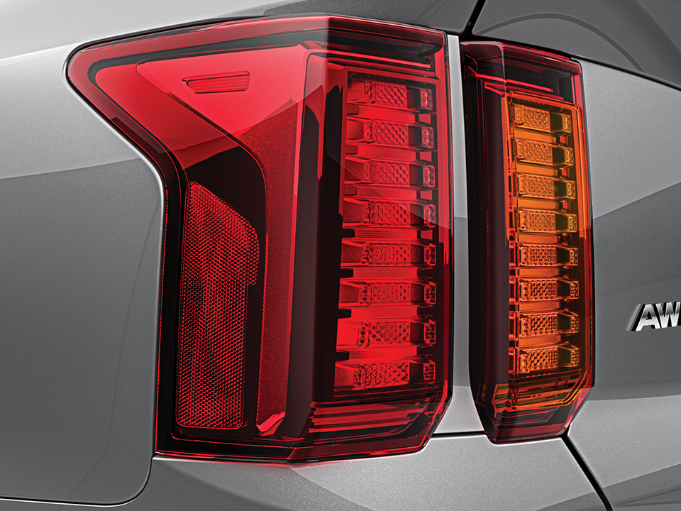 Rear combination lamps (Bulb type)