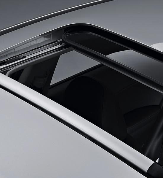 Safety power sunroof