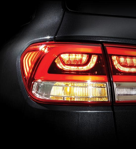 LED taillamps and stop lamps