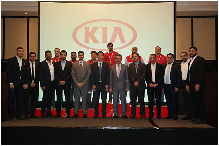 KIA UAE Technicians Gearing Up For 2014 World Skill Cup