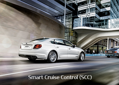 DRIVE WiSE feature - Smart Cruise Control (SCC)