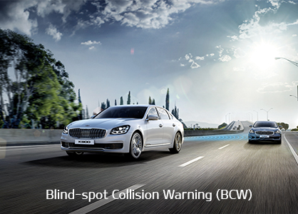 DRIVE WiSE feature - Blind-spot Collision Warning (BCW)