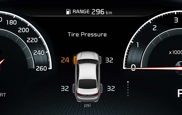 Tire Pressure Monitoring System (TPMS)